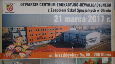 Centrum Edukacyjno-Rewalidacyjne w Oławie otwarte