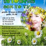 """plakat Koncert Charytatywny pt. """"Wiosna, ach to ty!"""""""