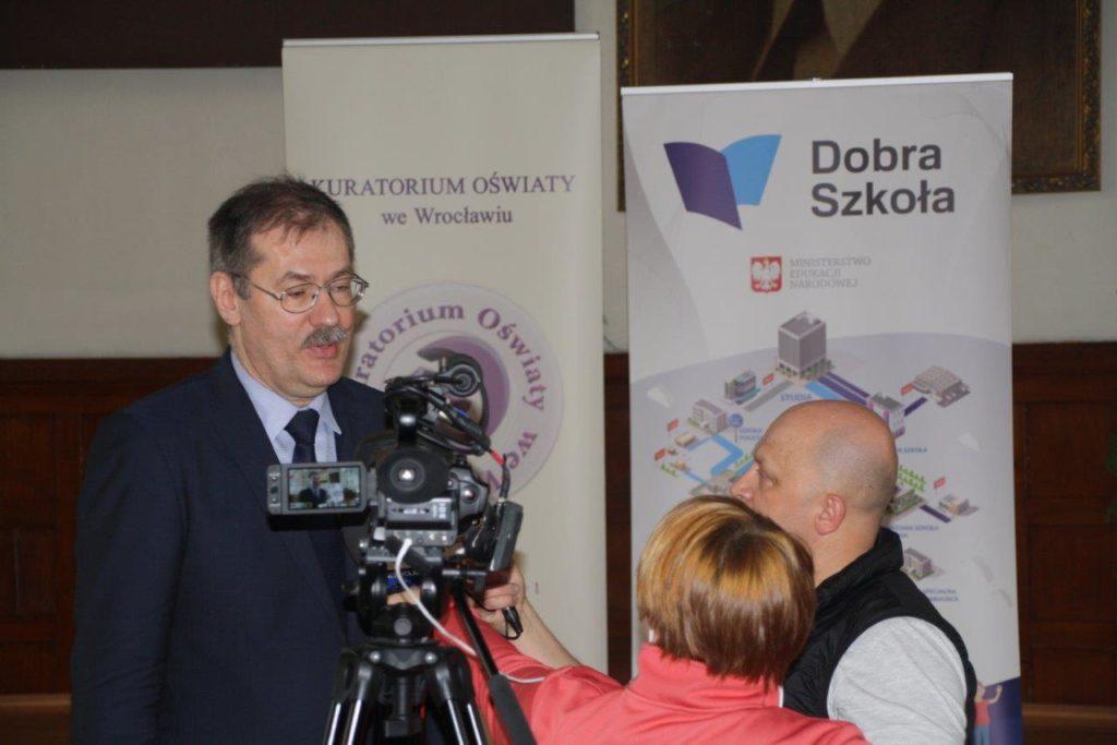 Konferencja prasowa w Jeleniej Górze