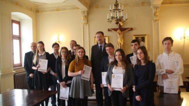 Wręczenie nagród laureatom drugiej edycji Konkursu Filozofii Klasycznej