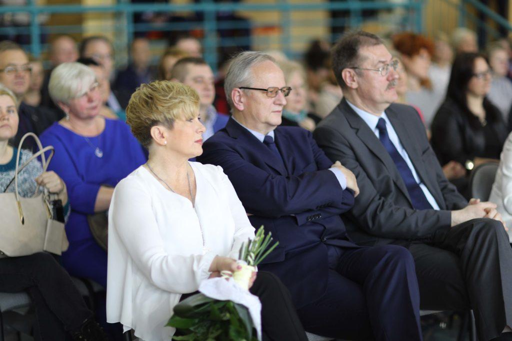 zakończenia roku klas maturalnych Technikom w Zespole Szkół Zawodowych i Ogólnokształcących w Kamiennej Górze.