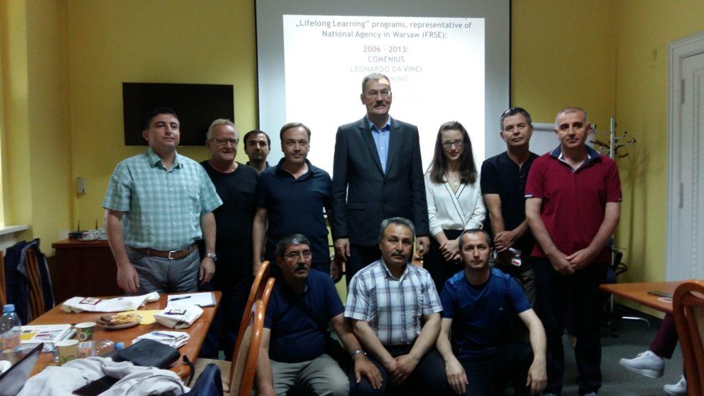 Dolnośląski Kurator Oświaty spotkał się z delegacją dyrektorów i nauczycieli szkół z Turcji