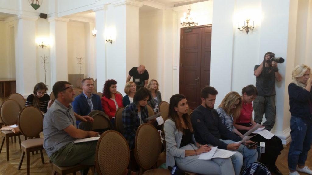 konferencja prasowa Dolnośląskiego Wicekuratora Oświaty