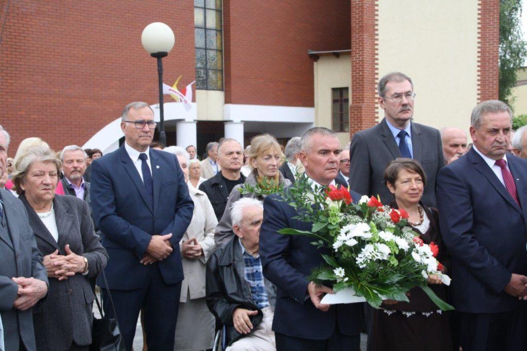 """Uroczystości zorganizowane przez Komisję MOZ NSZZ """"Solidarność"""" Polar Whirpool"""
