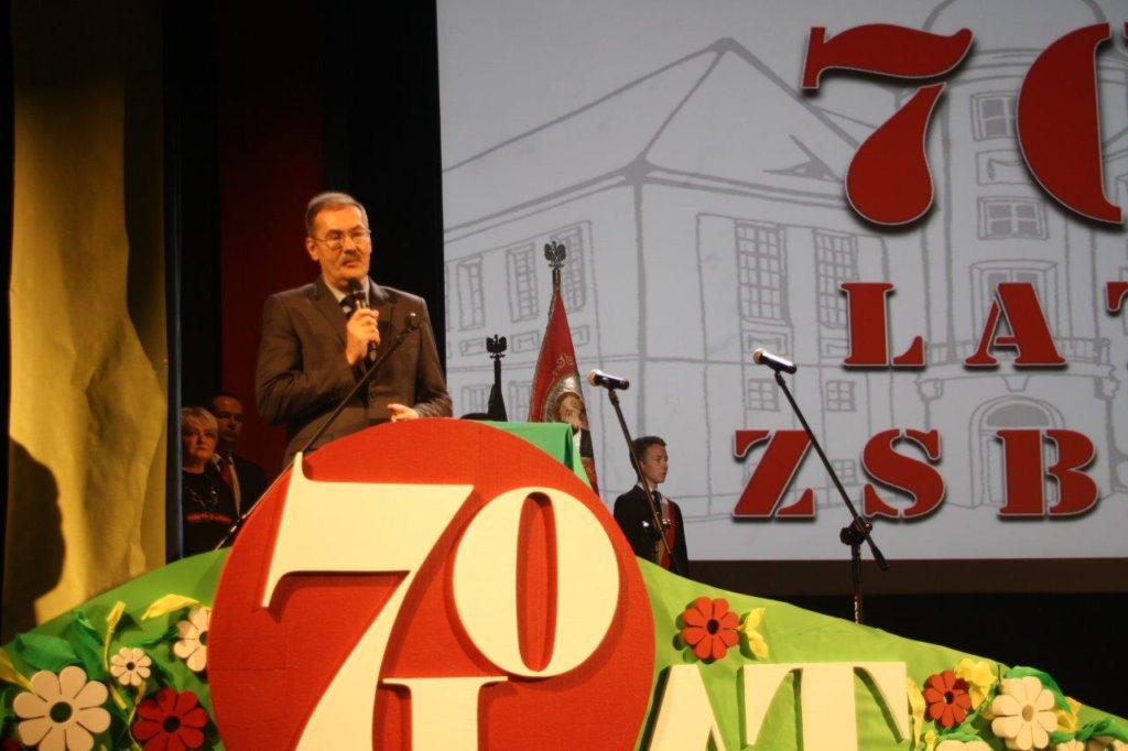 Jubileusz 70-lecia Zespołu Szkół Budowlano - Elektrycznych