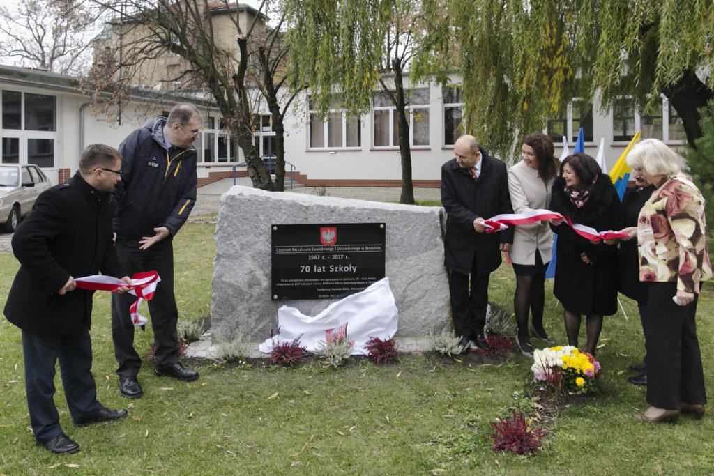 Jubileusz 70-lecia szkoły – Centrum Kształcenia Zawodowego i Ustawicznego w Strzelinie.