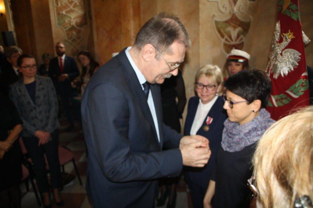 Uroczystość wręczenia Medali Komisji Edukacji Narodowej