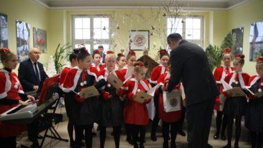 Koncert kolęd uczniów