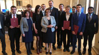 Uroczystość wręczenia stypendiów Ministra Edukacji Narodowej