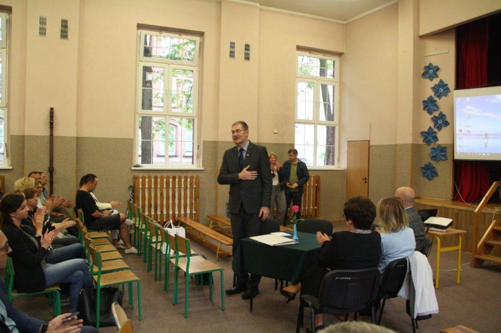 Dolnośląski Kurator Oświaty gościł w Bolesławcu