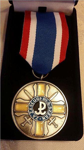 """Medal """"Za Zasługi dla Światowego Związku Żołnierzy Armii Krajowej"""""""