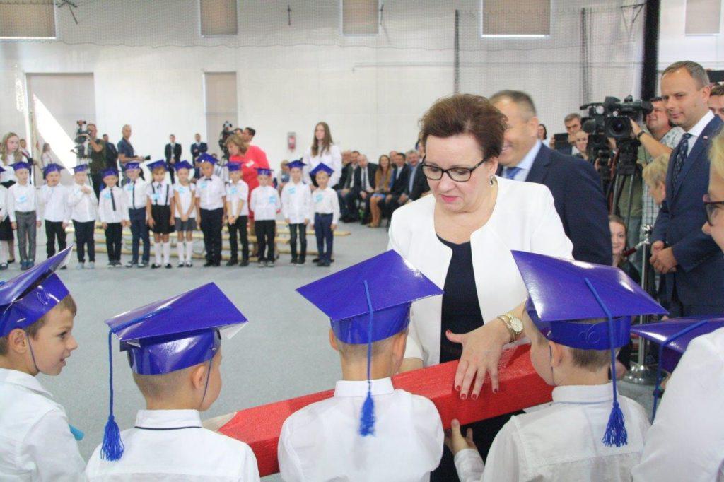 Ogólnopolskie rozpoczęcie roku szkolnego w Lutyni