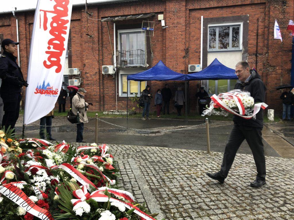 Obchody XXXVIII rocznicy protestu głodowego kolejarzy we Wrocławiu
