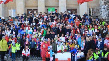 Bieg Przedszkoli i Szkół w 100-lecie odzyskania Niepodległości
