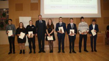 Uroczystość wręczenia dyplomów stypendystom Ministerstwa Edukacji Narodowej