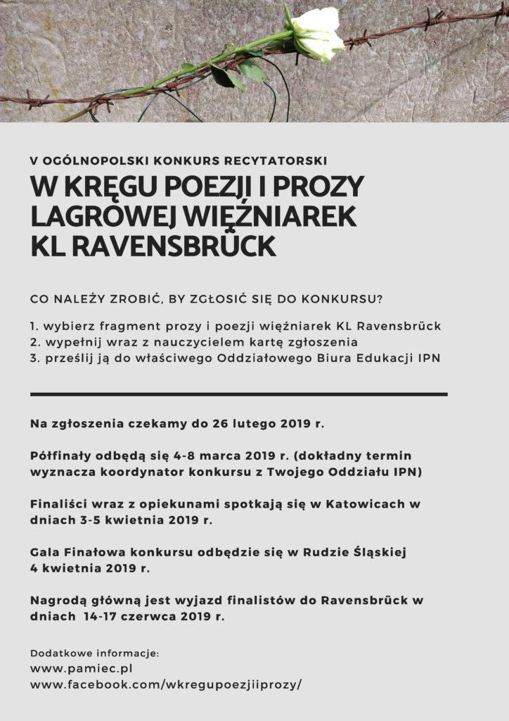V ogólnopolski konkurs recytatorski