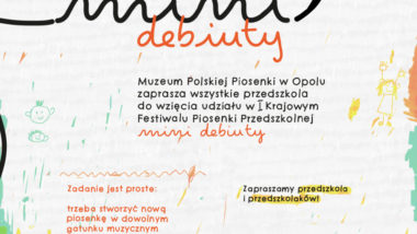 Plakat KFPP Mini-Debiuty
