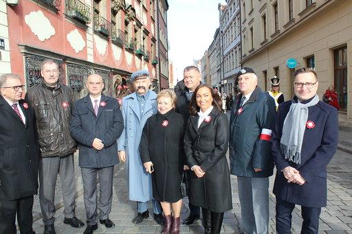 Wrocławskie obchody 101. rocznicy Odzyskania Niepodległości