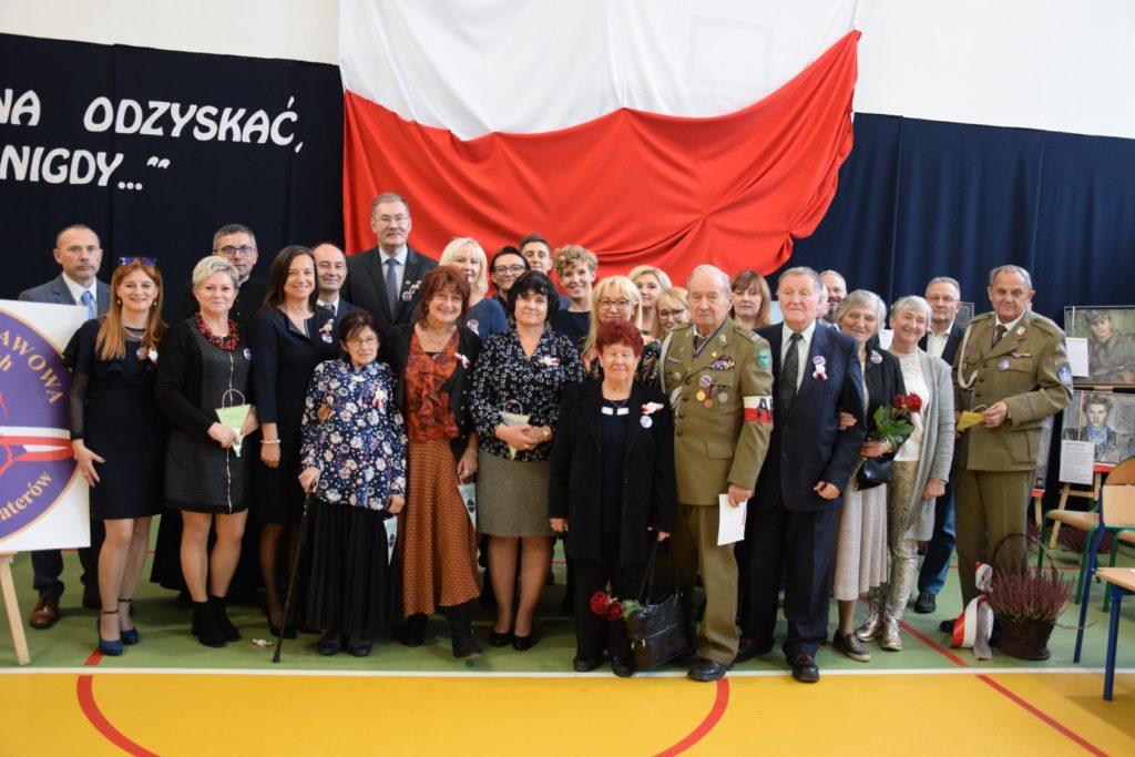 Nadanie imienia Szkole Podstawowej w Szewcach