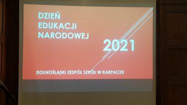 Dolnośląskie obchody Dnia Edukacji Narodowej 2021